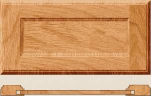 Flat square panel